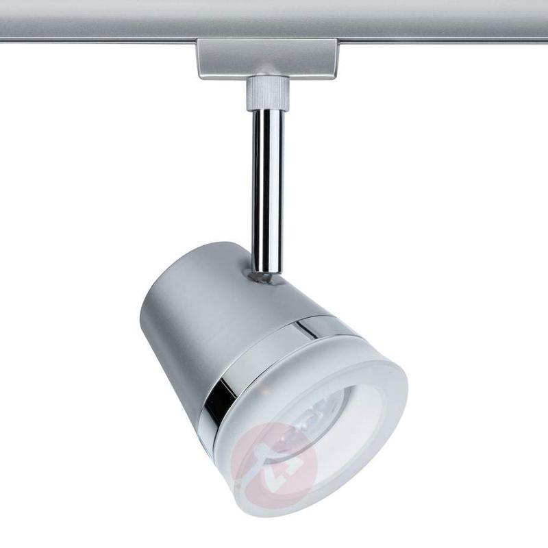 U-Rail LED spotlight Cone, 6.5 W, matt chrome - U-Rail