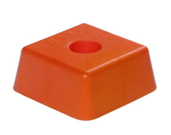 BORNES DE GEOMETRE - AA-Tête plastique orange OGE