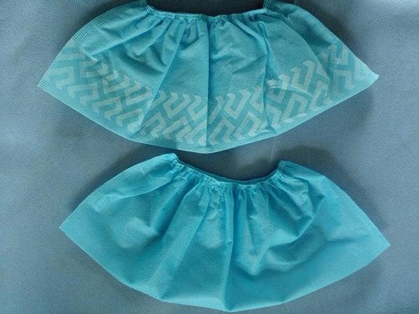 Cubre-sapatos en Polipropileno azul - Cubre-sapatos en Polipropileno azul