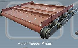 Apron feeder plates - Conveyor chains and components