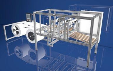 Filter pocket making - Ultrasonic welding machines