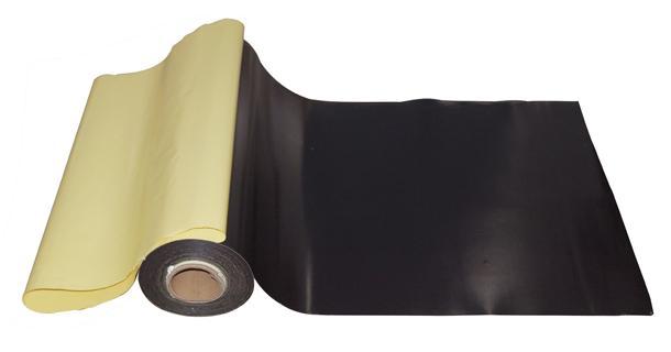 Flexible Magnetic Sheet - Adhesive laminated magnet