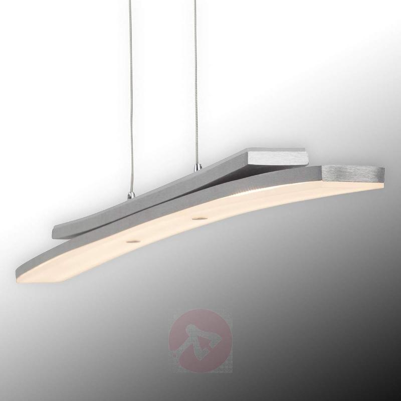 Modern LED pendant light Sunrise, 90 cm long - Pendant Lighting