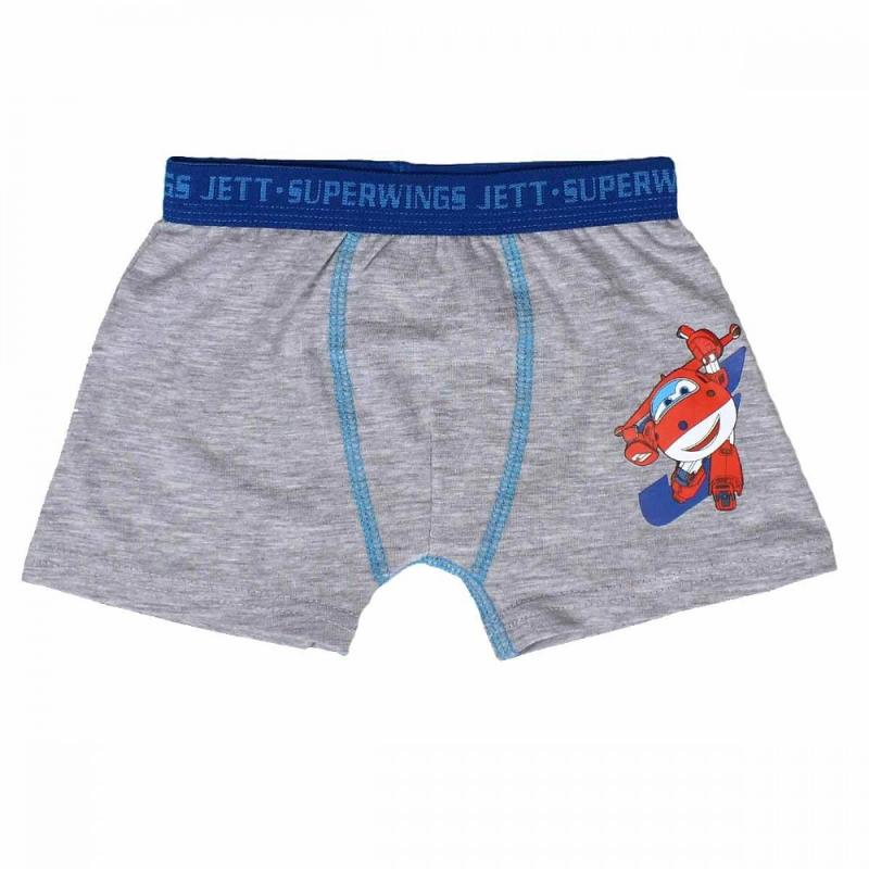 12x Lots de 2 boxers Super Wings du 2 au 8 ans - Sous-vêtement