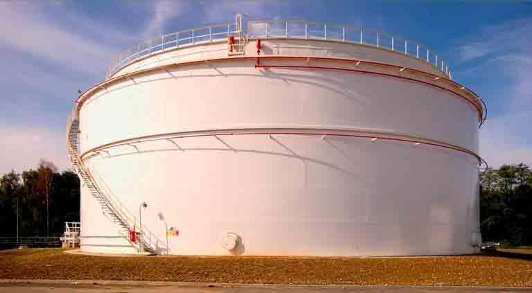 Storage Tank Erection