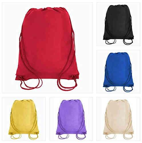 Non woven drawstring backpack - full printing color