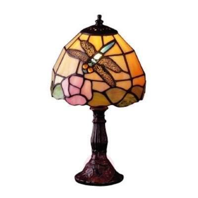 Tiffany style table lamp JANNEKE - Bedside Lamps