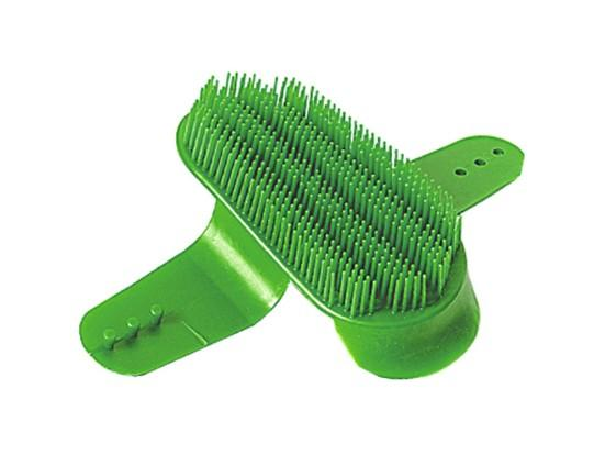 14.8×7.5  cm horse grooming brush - horse body brush / horse grooming brush/horse plastic dandy brush
