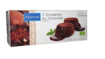 Fondant au chocolat - Gâteaux biologiques et surgelés