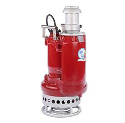 Submersible excavator pumps with agitator - SPT ® 80R to SPT ® 150R