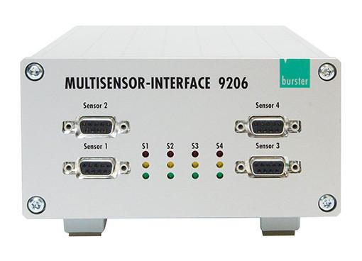 USB multisensor interface - 9206 - Simple connection via PC USB port, high-speed measurement , 6 wire technology ,