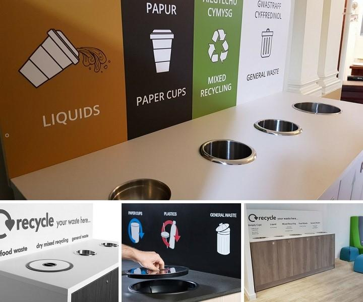 Bespoke Recycling Stations -