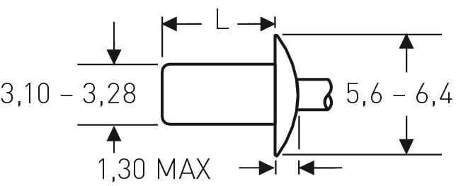 Blind rivet technology - POP® - Closed end rivets, closed design - Domed head