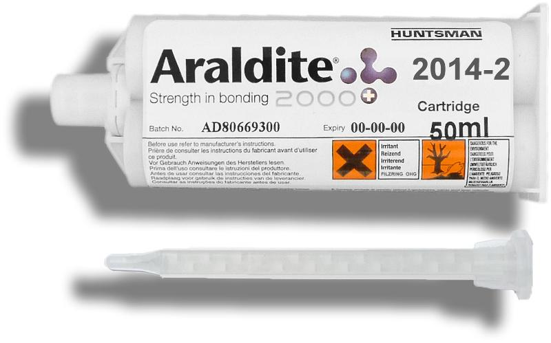 Araldite 2014-2 | 50 ml Doppelkartusche mit ZMS - ARA-2014-2-50