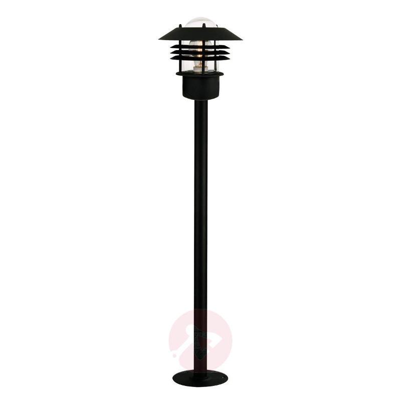 Stylish pathway lamp Vejers, black - Path and Bollard Lights