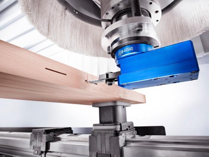 Fitschenaggregat CAVO H (horizontal) - CNC Aggregat zur Bearbeitung von Holz, Verbundwerkstoff und Aluminium