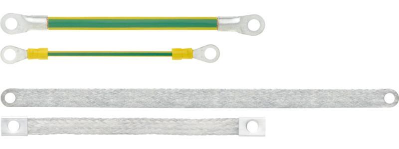 Ground straps / flat ground straps