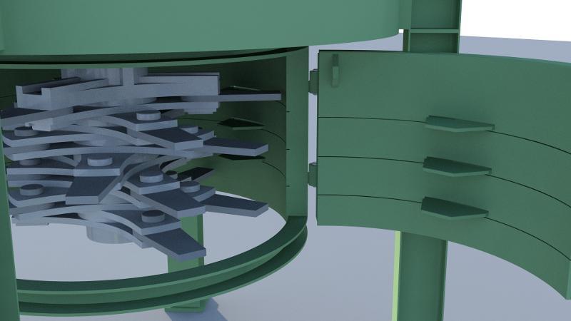 Bark shredder – Type PMR - Particleboard
