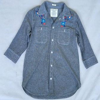 Camisa de mezclilla para mujer