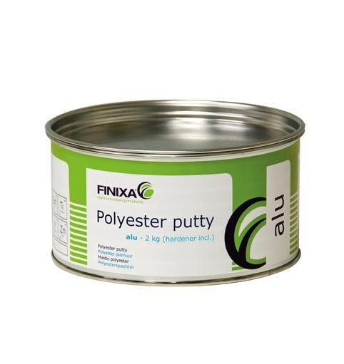 Polyester putty - ALU - null