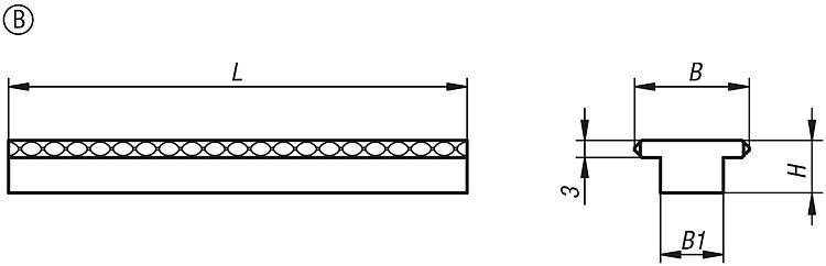 Mâchoires pour mors étagé ou mors central - Etau auto-centrant