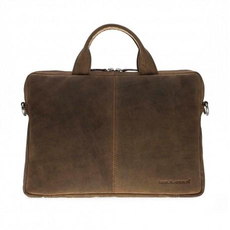 Lacerta Leather 13 Laptop Bag - Galactic Series