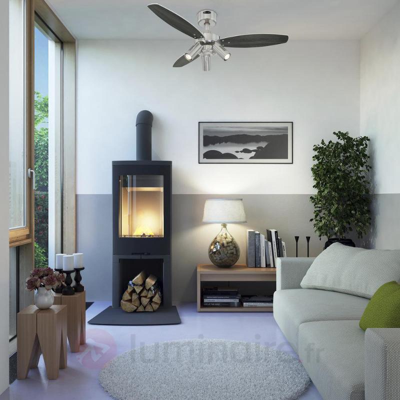 Ventilateur de plafond à 3 lampes JET PLUS - Ventilateurs de plafond modernes