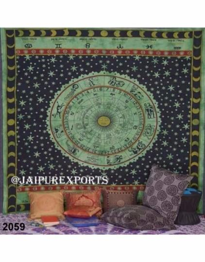 Indian Mandala Wall Hanging Hippie Boho Home Decor Tapestry