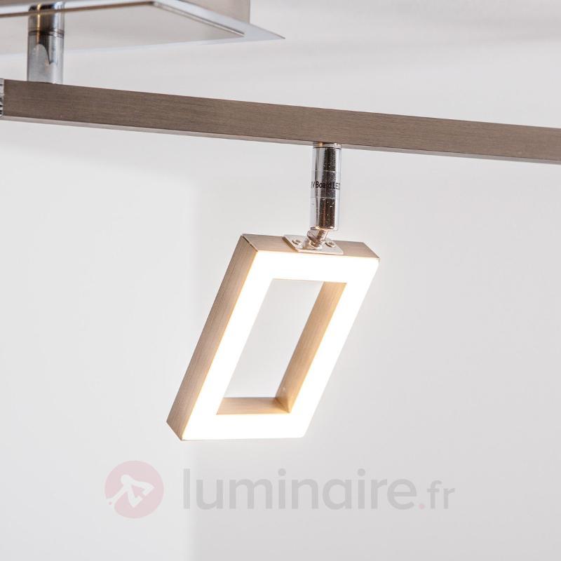 Plafonnier LED Lovisa à 4 lampes - Plafonniers LED