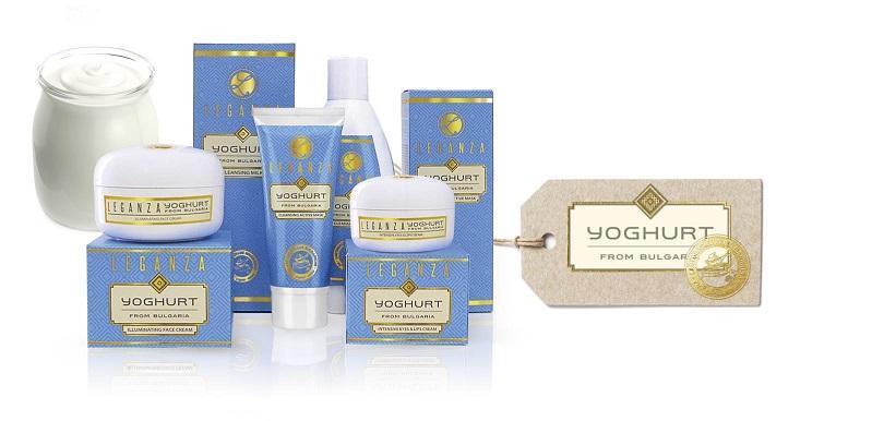 Leganza: Productos Cosmeticos con Yogurt de Bulgaria