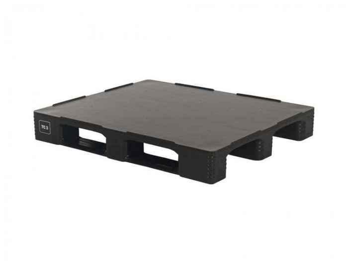 Kunststoff Industriepalette QPH1210HP3RR-CD eco - null