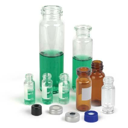 Verex-EU Vial Products - Verex-EU vials use 51A-Expanision glass for both clear and amber glass vials