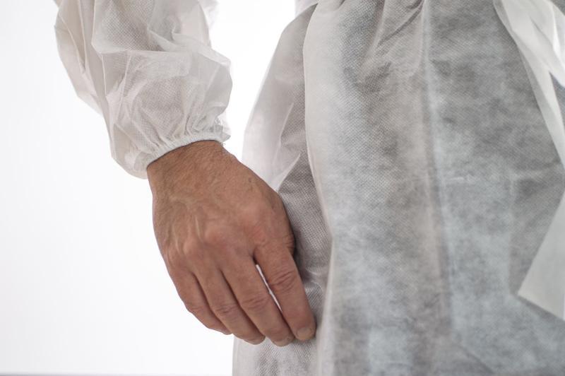 Bata Médica Blanca Impermeable Plastificada Planethair Store - null
