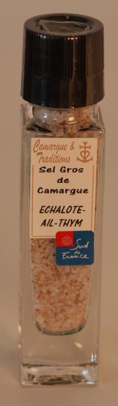 MOULIN RECHARGEABLE - SEL GROS DE CAMARGUE - ECHALOTE... - Epicerie salée
