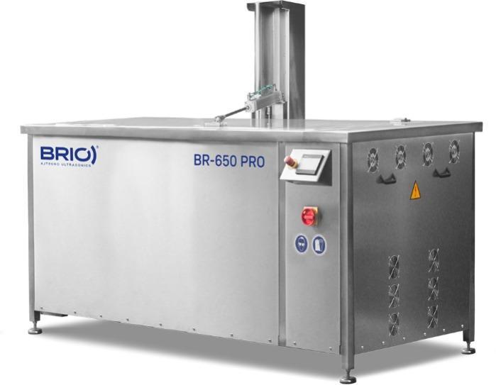 BR-650 PRO  - Máquina de limpieza por ultrasonidos automática de 680 L