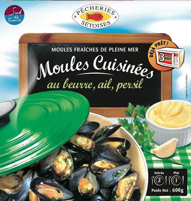 MOULES BEURRE AIL PERSIL - Produits de la mer