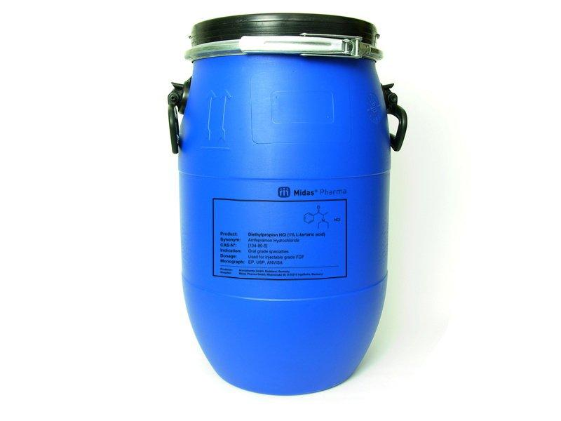 Diethylpropion Hydrochlorid - Diethylpropion Hydrochlorid; Wirkstoff; EP, USP; [134-80-5]