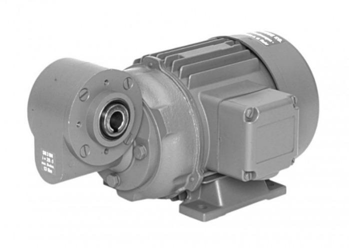 SN3B Gearmotors - Single-stage gear drive with solid or hollow shaft