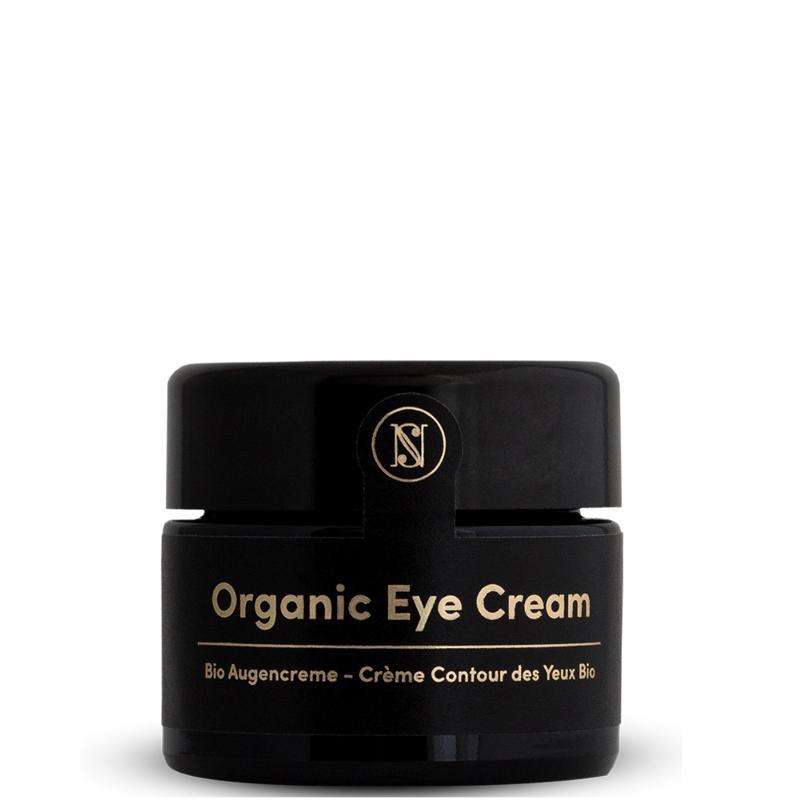 Organic Eye Cream For Dark Circles And Puffy Eyes 30ml  - Anti Wrinkle Face Cream with Argan Oil, Aloe Vera & Hyaluronic Acid