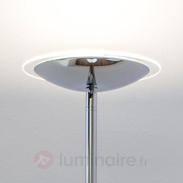 Lampadaire à éclairage indirect LED Malea brillant - Lampadaires LED à éclairage indirect