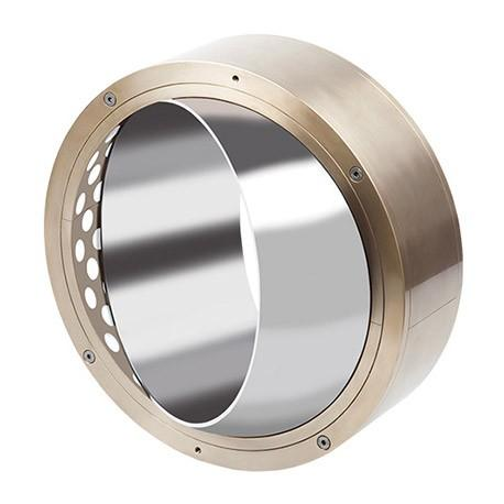 Cast Bronze Bushings with Solid Lubricant Inserts - GGB-DB®