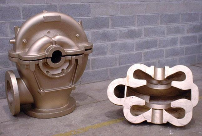 Pump casing - Pumps and turbines