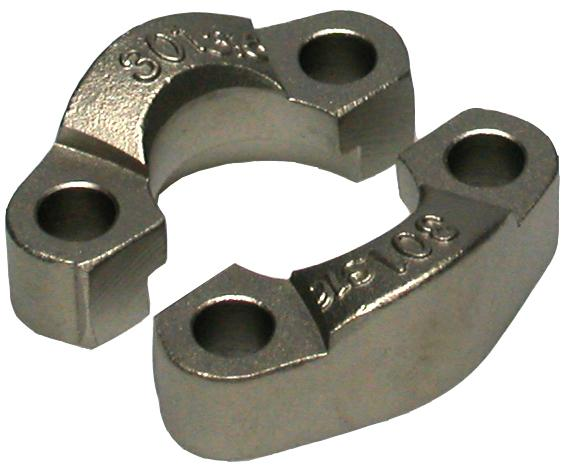 "FHL 6000 PSI 2"" split flange stainle - Stainless steel"