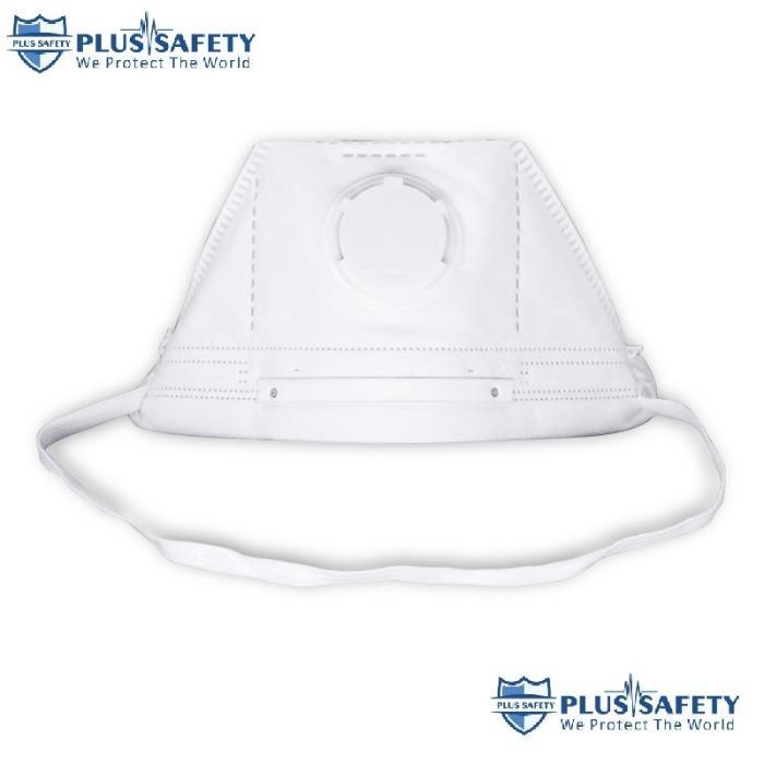 Maschera antipolvere FFP3 con filtro per il viso pieghevole  - Maschera antipolvere FFP3 con filtro per il viso pieghevole a forma di becco d'a