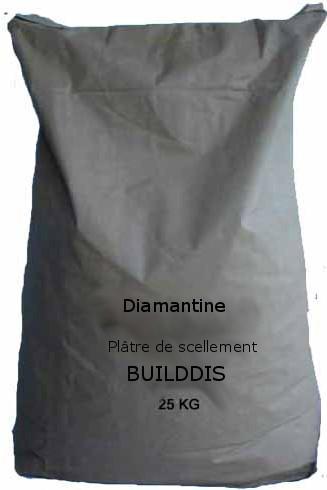 DIAMANTINE - Plâtre de scellement