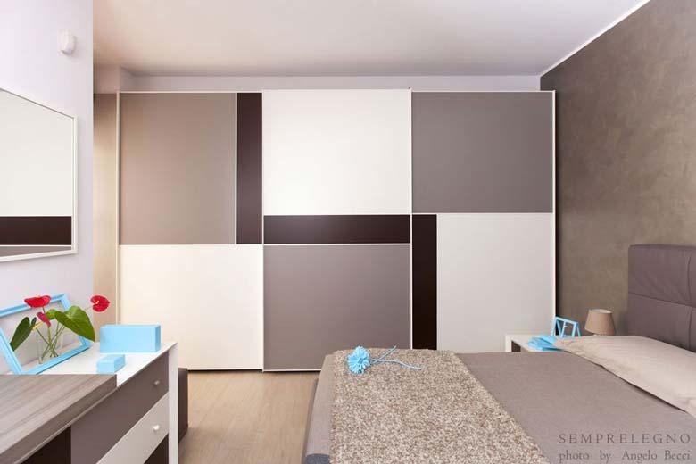 armadio su misura e mobili per camera da letto moderna ... - Camera Da Letto Su Misura
