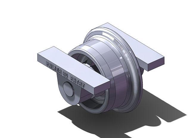 Wheels mounted between bearings - null