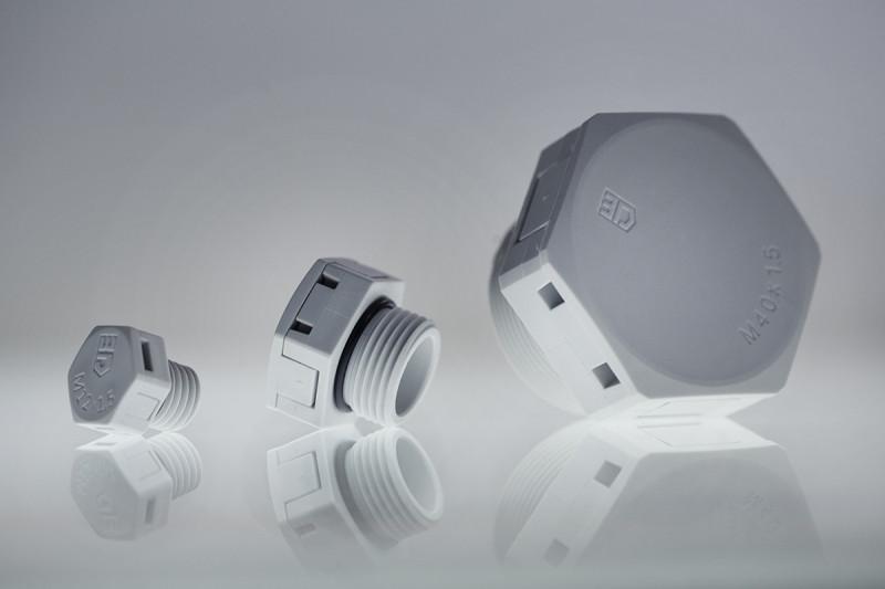Elemento de ventilación JDAE poliamida - protección para recintos contra agua de condensación, IP66 / IP68 / IP69