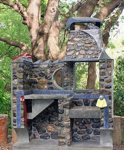 LUCINA - Arredo barbecue cucina e lavabo