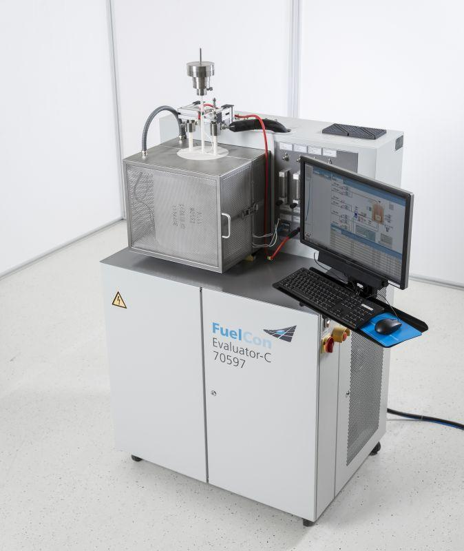 Single Cell Test Station for SOFC Fuel Cells up to 300 W - Test Station for SOFC Components and Single Cells up to 300 W